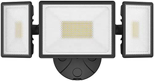 Onforu 80W LED Security Light 7200LM Outdoor Flood Light with 3 Adjustable Heads IP65 Waterproof product image