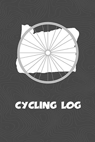Cycling Log: Oregon Cycling Log for tracking and monitoring your workouts and progress towards your bicycling goals. A great fitness resource for any ... Bicyclists will love this way to track goals!