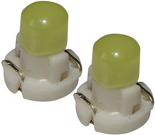 AERZETIX: 2 x Bombillas T3 LED 12V de salpicadero luz blanca
