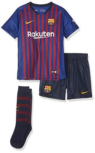 Nike Kinder FCB LK NK BRT HM Jersey Set, deep royal Blue/Obsidian, XL (122-128cm/7-8 Jahre)