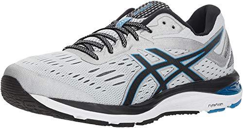 ASICS Men's Gel-Cumulus 20 Running Shoes, 11.5M, Glacier Grey/Black 7