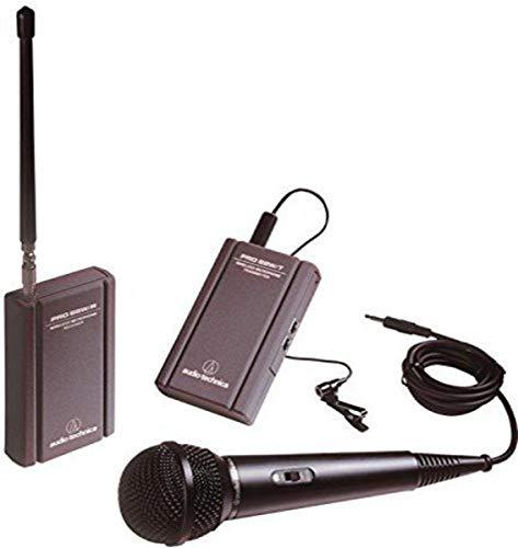 Audio-Technica ATR288W VHF TwinMic Wireless System