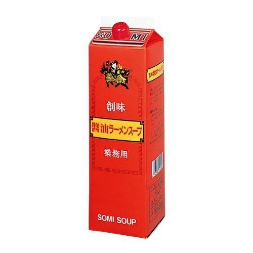 創味食品 醤油ラーメンスープ 1.8L [1181]