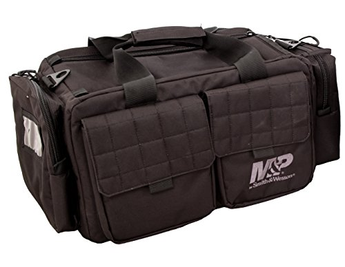Smith & Wesson M&P Officer Tactical Range Bag with Weather Resistant Material for...