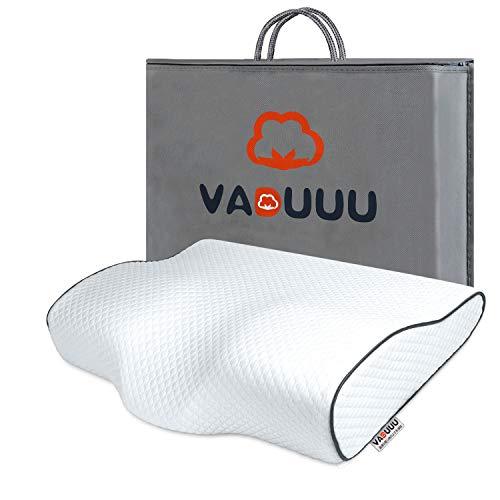 【Amazon限定ブランド】枕 安眠 まくら 低反発枕 安眠枕 ピロー pillow 高さ6-11cm 50*30cm VADUUU