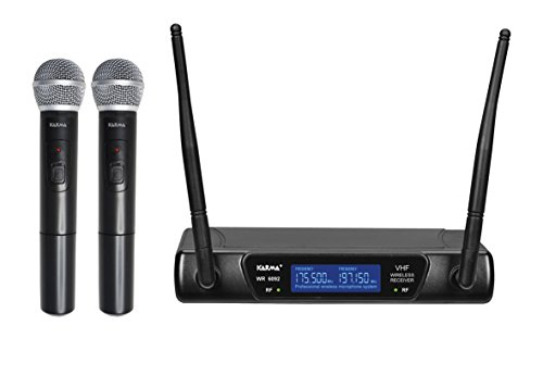 SET 6092 draadloze microfoon VHF Dual Handheld