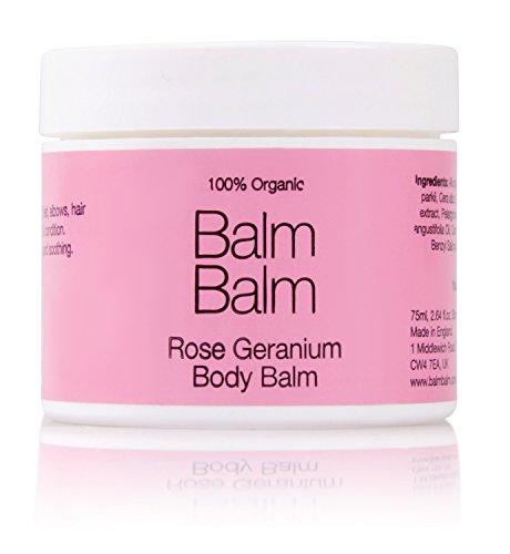 Baume corps bio - Gamme rose au géranium rosat - Balm Balm