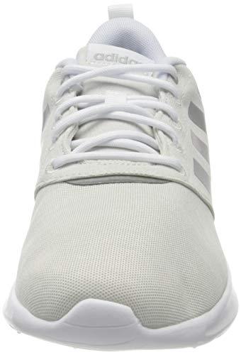 adidas QT Racer 2.0, Zapatillas Mujer, FTWBLA/Plamet/GRIORB, 40 EU