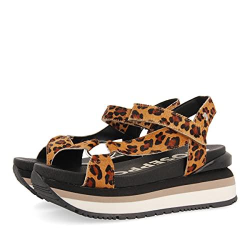 Gioseppo Topeka, Zapatillas Mujer, Leopardo, 37 EU