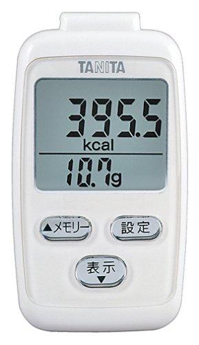 タニタ(TANITA) 3Dセンサー搭載歩数計 「BIG LCD」 ホワイト FB-724-WH