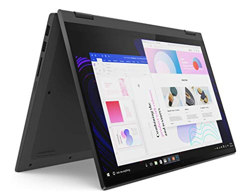 Lenovo IdeaPad Flex 5 Notebook Convertibile, Display 14  Full HD IPS Touch, Processore AMD Ryzen 3 5300U, 256 GB SSD, RAM 8 GB, Lenovo Digital Pen, Windows 10 Home in modalità S, Graphite Grey