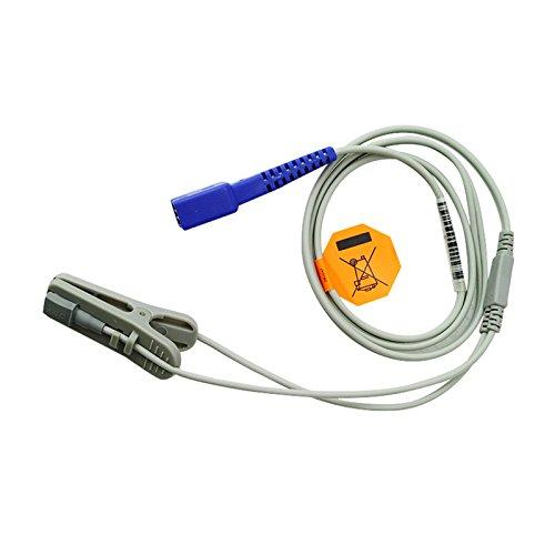 Denshine (FBA) 9 Pins Oximax Veterinary SpO2 Ear Lingual Sensor VET For NELLCOR