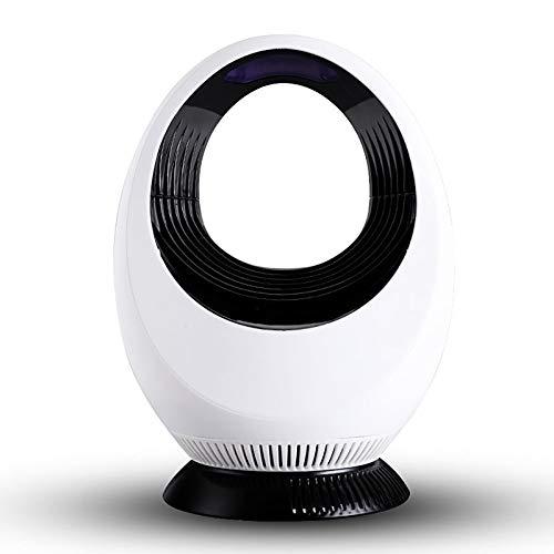 Porcyco Moskito-Killer-Lampe Electrónica USB de Moskito-Killer-Licht con fuerte aspiración en 360 grados, Trampa para moscas silenciosa para cocina, sala de estar, dormitorio en interiores