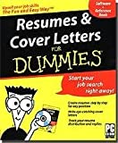 Resumes & Cover Letters for Dummies