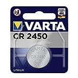 Knopfzelle CR24500 Lithium 3,0V 560mAh Hersteller: Varta Hersteller-Nummer: 6450101401