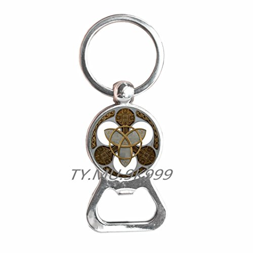 Celtic Knot Bottle opener Keychain, Celtic Knot Bottle opener,Celtic Bottle opener Keychain, Celtic Bottle opener, Celtic Knot Charm Bottle opener Keychain.Y167
