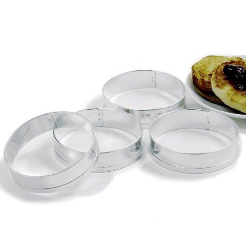 Norpro Anelli per Muffin, Set di 4 Pezzi