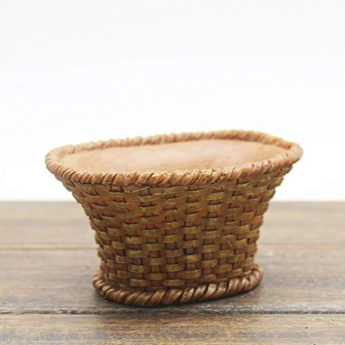 YTGUEVKDH Creativo Cubierta en Forma de Maceta del Cono del Pino de Avellana suculento de los plantadores de múltiples Funciones de Escritorio Resina Adornos (Color : B)