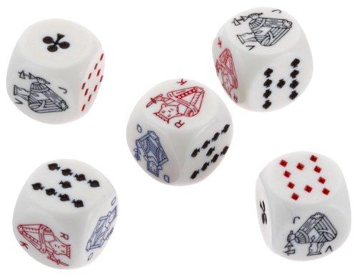 Piatnik 2970 - Pokerwürfel 16mm (5St)