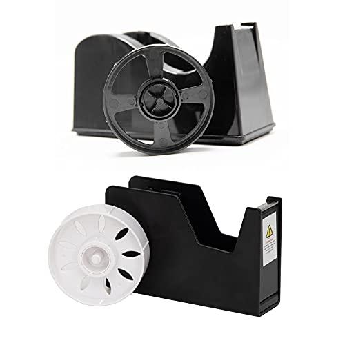 2pack Desktop Tape Dispenser Adhesive Roll Holder (Fits 1
