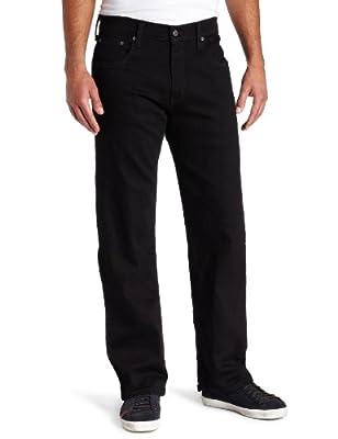 Levi_s Men_s 569 Loose Straight Leg Jean, Black - Stretch 34W x 32L