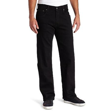 Levi's Herren Jeans 569 Loose Straight Fit Schwarz