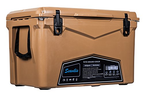 Seavilis Cooler 60qt (Tan)(Including $50.0 Free Accessories)...