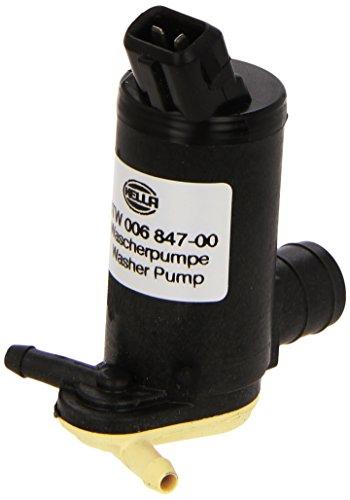 HELLA 8TW 006 847-001 Bomba de agua de lavado, lavado de parabrisas, Bomba doble