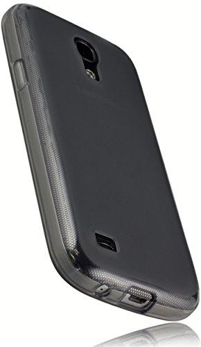 mumbi Coque de protection pour Samsung Galaxy S4 mini TPU gel silicone transparent noir