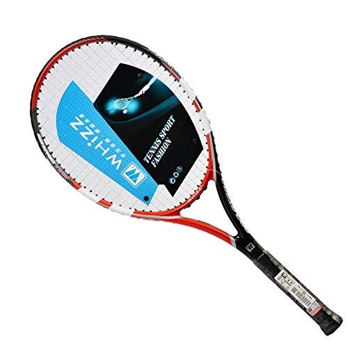 MLPNJ Raqueta Profesional de pádel de Tenis 100% Fibra de Carbono con Bolsa Libre Raqueta de sobregrip Entrenamiento Raquete De Tenis