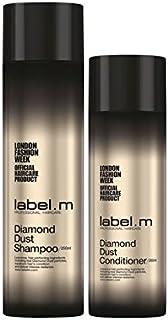 Label.M Diamond Dust Shampoo And Conditioner Duo - .ダイヤモンドダストのシャンプーとコンディショナーのデュオ [並行輸入品]