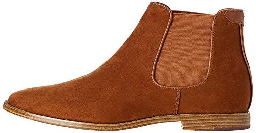 find. Albert Suede-Look Chelsea Boots, Braun (Tan), 47 EU