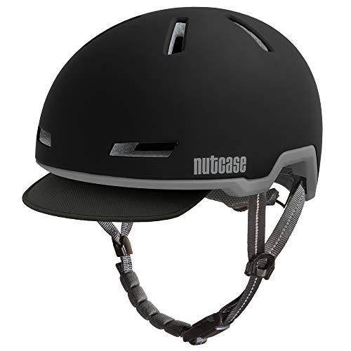 Nutcase Tracer Midnight Black Matte MIPS Fahrradhelm E-Bike, Größe:S/M (52-56 cm)