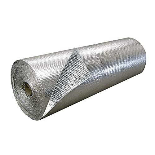 Isolamento Termico Tetto, Termoriflettente Per Termosifoni, Loft Isolante In Alluminio, Isolante Per Porta Garage, Per Avvolgere Tubi Isolamento Termico Termosifoni Tetti Pareti(Size:1x20m 3.2x65.6ft)