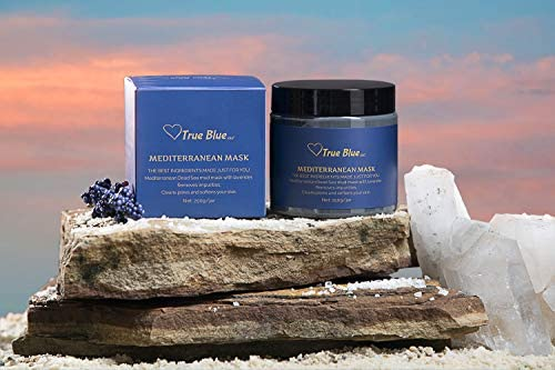 Dead Sea Mud Mask with Lavender and Chamomile for Face and Body Organic Natural Skincare Cleans product image
