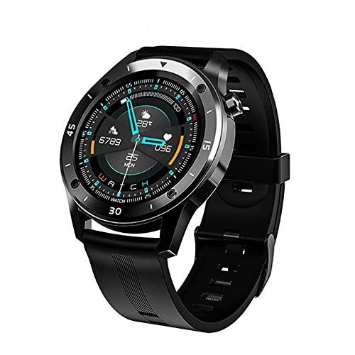 Color Yun F22 Relojes Deportivos Inteligentes para Hombre Mujer Regalo Inteligente Reloj Inteligente Pulsera Inteligente (Azul)