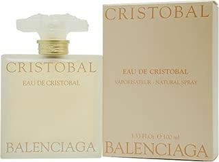 Eau De Cristobal By Balenciaga For Women. Eau De Toilette Spray 3.33 Oz / 100 Ml.