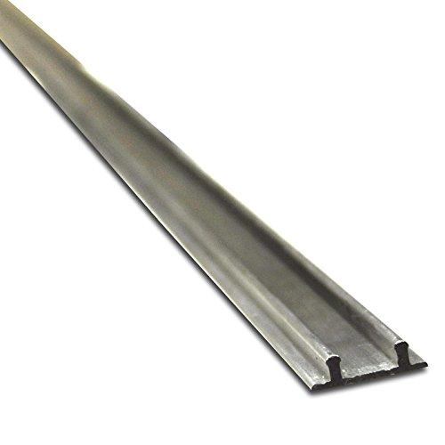 Doppelschiene Möbelschiene Laufschiene Bodenschiene 1,90 m Aluminium