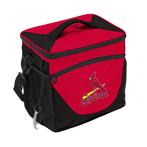 logobrands MLB St. Louis Cardinals Cooler 24 Can, Team Colors, One Size