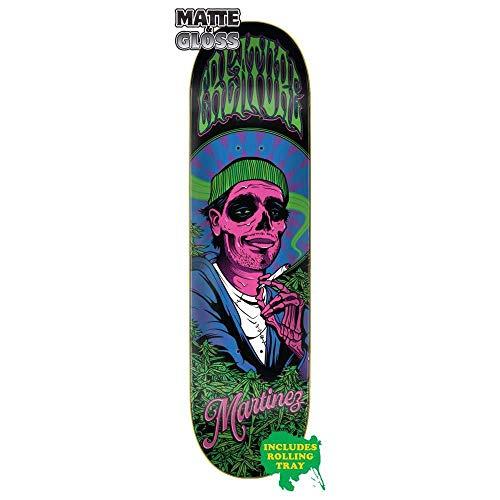 Creature Skateboard-Brett/Deck, Smokers Club Martinez, 21,8 x 82 cm