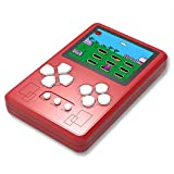 Beico Portable Handheld Game Console for Kids and Adults with Built in 318 Classic Old Style Video Games Perfect for Holiday or Travel Entertainment Children Birthday Gift (Red)