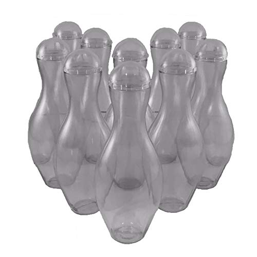 Mini Bowling Pin Candy Container Party Favor 10 Pack