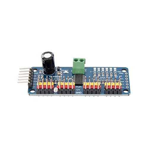 Jolicobo 16 Kanal 12 Bit PWM Servomotor Treiber IIC Schnittstelle PCA9685 Modul Controller Für Roboter DIY Servo Schild Modul