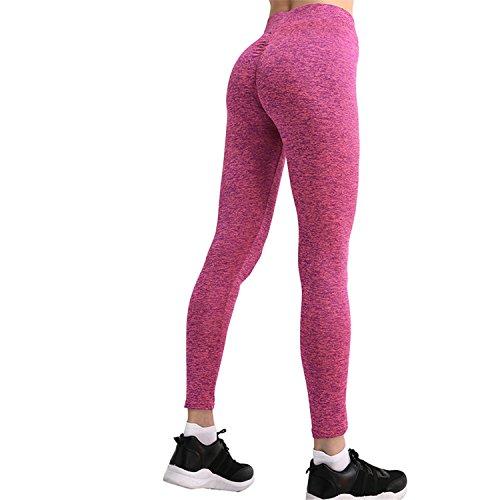 Pants Fitness Push Up Leggings Pantalon Femme Sweatpants Streetwear Pencil Pants Damen Hose Gr. L, rose