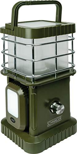 mächtig der welt SCHWAIGER – CALED100 511 – 4-Komponenten-LED-Campingleuchte mit abnehmbarem Licht und Bluetooth…