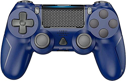 Wireless Gaming Controller for PS-4, YCCSKY Wireless Gamepad Joypad Built-in Gyro/Speaker/Vibration Remote Joystick with Share Button and Ergonomic Design forPS-4/Slim/Pro (Blue)