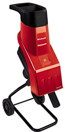 Einhell GH-KS 2440 - Trituradora eléctrica de cuchillas, con obturador, bolsa colectora, 4500 rpm, 2000 W, 230 - 240 V, color rojo y negro (ref. 3430340)