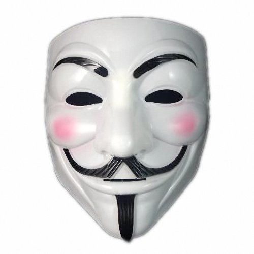 OPP P&o V for Vendetta Mask Guy Fawkes Halloween Masquerade Party Face March Protest