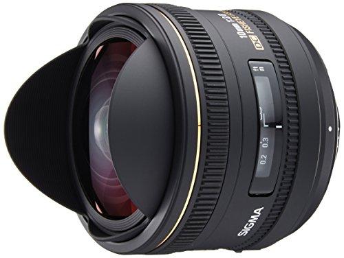 Sigma 10 mm F2,8 EX DC Fisheye HSM-Objektiv (Gelatinefilter) für Nikon Objektivbajonett