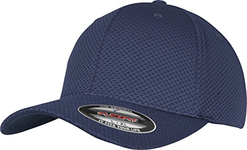 Flexfit 3D Hexagon Jersey Cap Kape, Navy, S/M